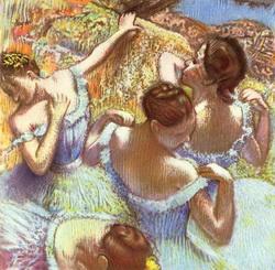 Голубые танцовщицы (Э. Дега)